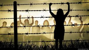 صورة رمزية حول حقوق الإنسان. الصورة فوتوليا