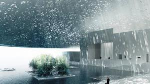 © صورة عن متحف اللوفر أبوظبي من موقعه الرسمي على الإنترنت