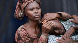 الذكرى السنوية العشرون في كيغالي عاصمة رواندا (7 أبريل / نيسان 2014) للإبادة الجماعية. Foto: Getty Images