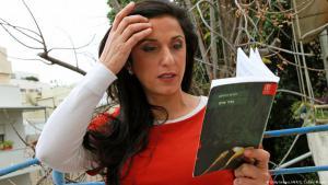 الكاتبة الإسرائيلية دوريت رابينيان. Foto: Getty Images/AFP