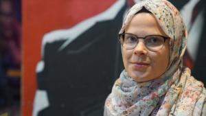 الباحثة الفنلندية في الإسلاموفوبيا ليندا هيوكي: ازدواجية معايير الفردانية الغربية. (photo: Marian Brehmer)