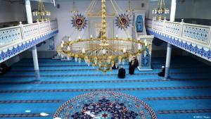 صورة رمزية لللإصلاح الديني في الإسلام. الصورة مسجد في برلين