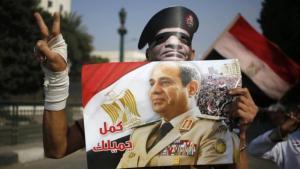 حملات تأييد للرئيس المصري عبد الفتاح السيسي في القاهرة ; Foto: AFP/Getty Images
