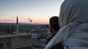 """عملية تركيا العسكرية """"غصن الزيتون"""" في عفرين - سوريا. Foto: picture alliance/abaca/Depo Photos"""