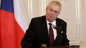 الرئيس التشيكي ميلوش زيمان.Foto: picture-alliance/AP