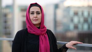 المعلمة المسلمة فريشتا لودين في ألمانيا. Foto: dpa/picture-alliance
