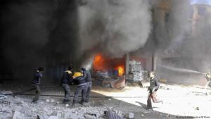 تعيش منطقة الغوطة الشرقية المحاصرة موجة جديدة من الإبادة والموت. إذ جددت قوات النظام الأربعاء (7فبراير/ شباط 2018) قصفها على الغوطة الشرقية المحاصرة في يوم أُعتُبر الأكثر دموية في المنطقة منذ أشهر.