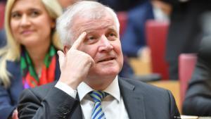 وزير الداخلية الألماني هورست زيهوفر .