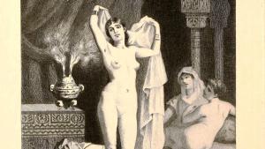 غلاف كتاب الوشاح فى فوائد النكاح، جلال الدين السيوطي، طبعة عام 1900.