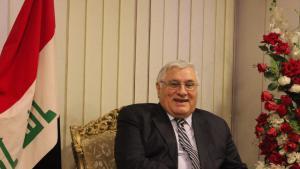 رائد فهمي سكرتير الحزب الشيوعي العراقي. حقوق الصورة: ملهم الملائكة