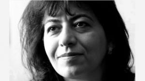 الكاتبة العراقية الأمريكية دنيا ميخائيل. (source: New Directions)