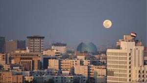 منظر من العاصمة العراقية بغداد