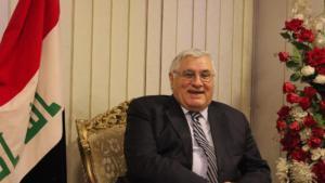 رائد فهمي سكرتير الحزب الشيوعي العراقي. الصورة: ملهم الملائكة