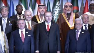 يرى مراقبون أنه مع بداية استلام إردوغان للسلطة في تركيا بات الكثيرون من دعاة الإصلاح العرب يرون النموذج التركي الجديد مثالا يمكن أن تحتذي به دول المنطقة كلها، وأن إردوغان يملك طموحاً ينبع من التاريخ العثماني إلى أن يجعل من بلاده مركز العالم الإسلامي.