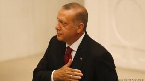 أدى رجب طيب أردوغان اليمين الدستورية رئيسا لتركيا وفقا للنظام السياسي التركي الجديد