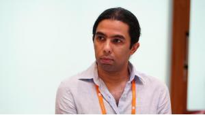 عمرو غربية خبير رقابة الإنترنت ومسؤول حقوق الإنسان والتكنولوجيا في المبادرة المصرية للحقوق الشخصية. Foto: DW