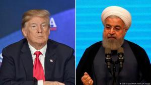 """التهديدات الكلامية على تويتر بين الرئيس الأمريكي ترامب والحكومة الإيرانية أدخلت المنطقة العربية في حالة من الترقب الحذر، لا سيما بعد الرد الإيراني بأن المعركة لو حصلت فإنها ستكون """"أم المعارك""""، وتحذير واشنطن من """"اللعب بالنار""""."""