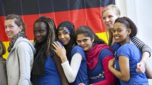 الاندماج ومدى انفتاح ألمانيا على المسلمين. صورة رمزية