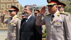 مرسي والسيسي - مصر. الصورة رويترز