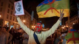 متظاهرون في المغرب ضد الفساد وغعتقال قادرة حراك الريف.
