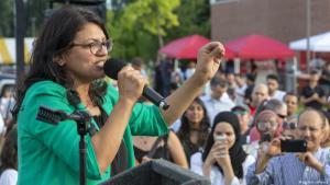 رشيدة طليب.. أول امرأة فلسطينية الأصل تفوز بمقعد بالكونغرس