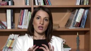 الباحثة المختصة بالتطرف داليا غانم-يزبك.  (source: YouTube)