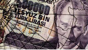 خمسون ألف ليرة - عملة تركية سابقة. Foto: AFP/Getty Images