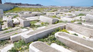 المقبرة اليهودية في مدينة الصويرة - المغرب. (photo: Claudia Mende)