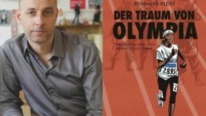 """غلاف رواية """"حلم الأولمبياد"""" أول رواية حقيقية ألمانية مصورة باللغة العربية، للكاتب والرسام الألماني راينهارد كلايست. ; Foto: © Carlsen-Verlag"""