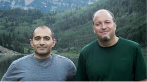 الباحثان السياسيان داني بوستل ونادر هاشمي. (photo: private)