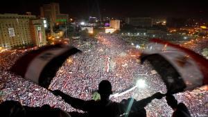 من مظاهرات ميدان التحرير - القاهرة - مصر