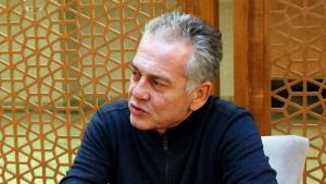 مصطفى أوزتورك بروفيسور متخصص في تفسير القرآن بجامعة مرمرة في اسطنبول.  (photo: Atahan Danaci)