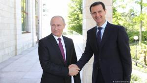 Russian President Vladimir Putin and Syrian President Bashar al-Assad (photo: picture-alliance/dpa/Sputnik)