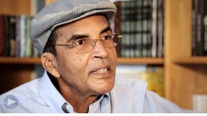 الكاتب الليبي إبراهيم الكوني.(source: YouTube)
