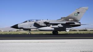 سلاح الجو الملكي السعودي طائرة حربية مقاتلة من نوع تورنادو IDS ــ.