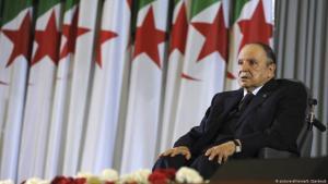 الرئيس الجزائري عبد العزيز بوتفليقة.  Foto: picture-alliance
