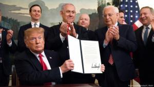 على غرار القدس ـ ترامب يعترف بسيادة إسرائيل على الجولان. الصورة: بيكتشر أليانس