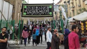 مجالس الصوفية في القاهرة - طقوس رمضان بنكهة مصرية خاصة. الصورة ريهام مقبل من القاهرة