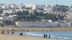 منظر من مدينة  طنجة المغربية