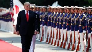 """ترامب يؤكد أن بلاده """"لا تسعى لتغيير النظام الإيراني"""""""