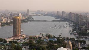 منظر نهر النيل - القاهرة - مصر