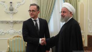 وزير الخارجية الألماني ماس ضيفا عند الرئيس الإيراني حسن روحاني