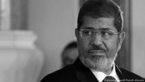 الرئيس المصري السابق محمد مرسي كان أول رئيس منتخب ديمقراطياً في تاريخ مصر . الصورة: بيكتشر أليانس وا فب
