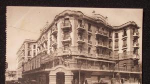 فندق ماجستيك في تونس في الثلاثينيات.  Quelle: Wikipedia