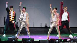 """فرقة الشباب الكورية الجنوبية سوبر جونيور """"Super Junior""""ــ Foto: picture-alliance/dpa"""