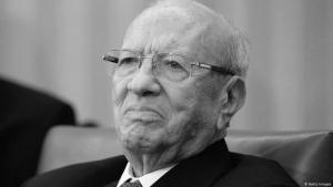 الرئيس التونسي الراحل، الباجي قايد السبسي (92 عاما) الصورة غيتي إيميجيس