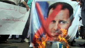 مظاهرات ضد نظام الأسد في مايو 2012 ، الصورة: picture-alliance /dpa / K Elfiqi