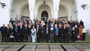 فعالية للفرق الإبراهيمية في المغرب بدعوة من جامعة الرباط. Foto: Abrahamisches Forum