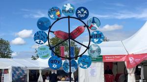 """تجمع """"أديان من أجل السلام"""" العالمي العاشر في لينداو الألمانية Foto: DW"""