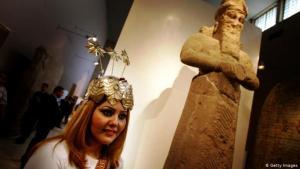 المتحف الوطني العراقي في بغداد.